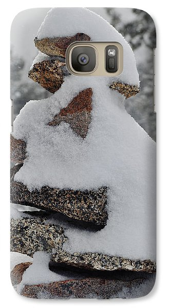 Galaxy Case featuring the photograph San Jacinto Balanced Rocks by Kyle Hanson