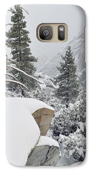 Galaxy Case featuring the photograph San Jacinto Winter Wilderness by Kyle Hanson