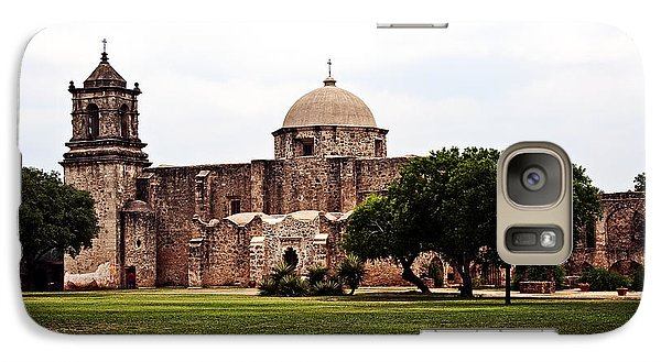 Galaxy Case featuring the photograph San Jose Mission by Andy Crawford