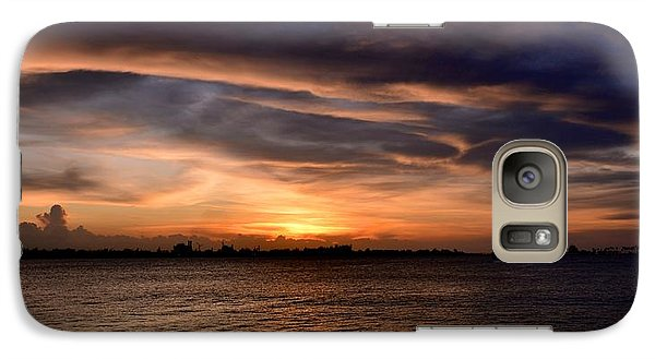 Galaxy Case featuring the photograph San Juan Bay by Ricardo J Ruiz de Porras
