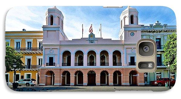Galaxy Case featuring the photograph San Juan City Hall by Ricardo J Ruiz de Porras