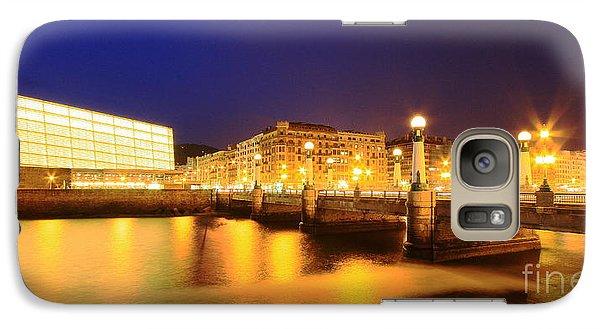 Galaxy Case featuring the photograph San Sebastian 3 by Mariusz Czajkowski