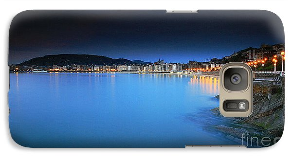 Galaxy Case featuring the photograph San Sebastian 5 by Mariusz Czajkowski