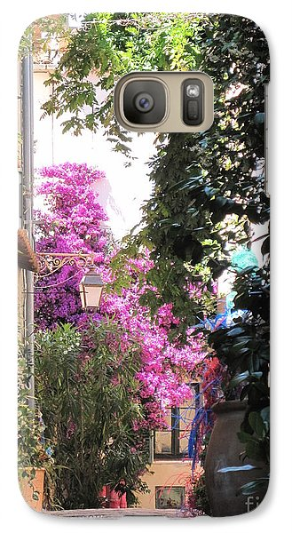 Galaxy Case featuring the photograph St Tropez by HEVi FineArt