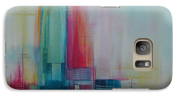 Galaxy Case featuring the painting Sanctuary 10 by Elis Cooke