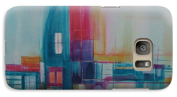 Galaxy Case featuring the painting Sanctuary 11 by Elis Cooke