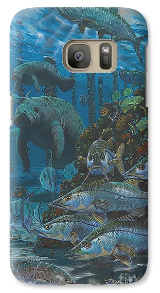 Spoonbill Galaxy S7 Case - Sanctuary In0021 by Carey Chen