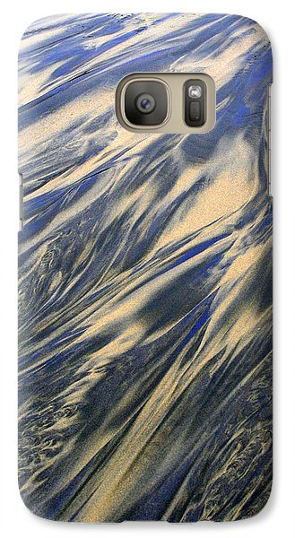 Galaxy Case featuring the photograph Sand And Sky by Debra Kaye McKrill
