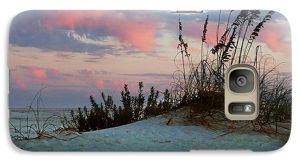 Galaxy Case featuring the photograph Sand And Sunset by Deborah Smith
