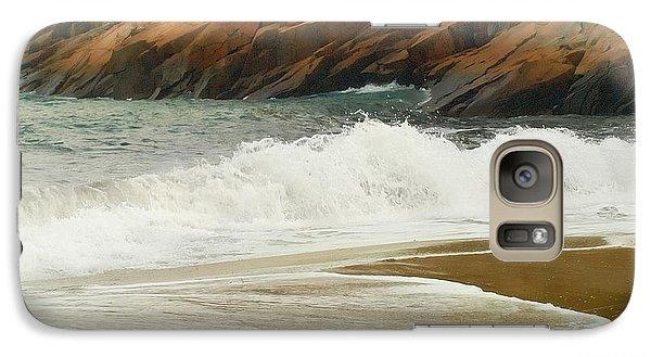 Galaxy Case featuring the photograph Sand Beach by Raymond Earley