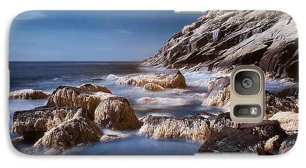 Galaxy Case featuring the photograph Sand Beach by Steve Zimic