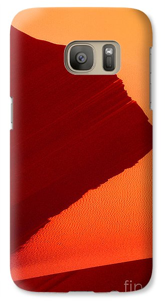 Galaxy Case featuring the photograph Sand Dune Curves Coral Pink Sand Dunes Arizona by Dave Welling