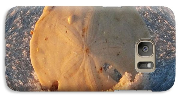 Galaxy Case featuring the photograph Sand Globe by Michele Kaiser