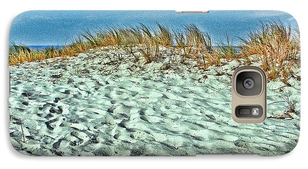 Galaxy Case featuring the photograph Sand In My Shoes by Oscar Alvarez Jr