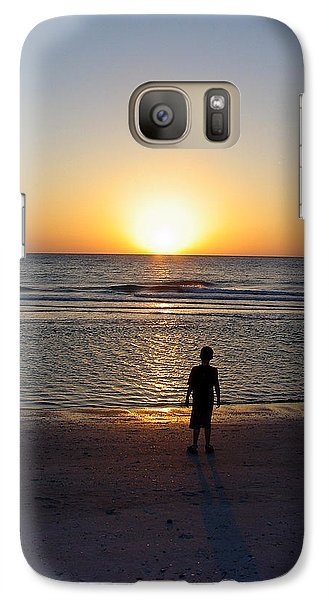 Galaxy Case featuring the photograph Sand Key Sunset by David Nicholls
