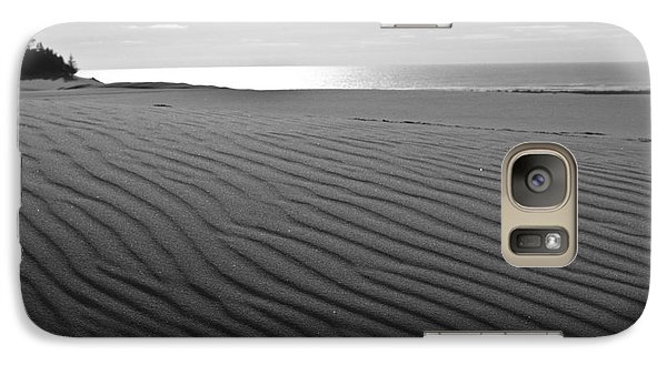 Galaxy Case featuring the photograph Sand Patterns by Adria Trail