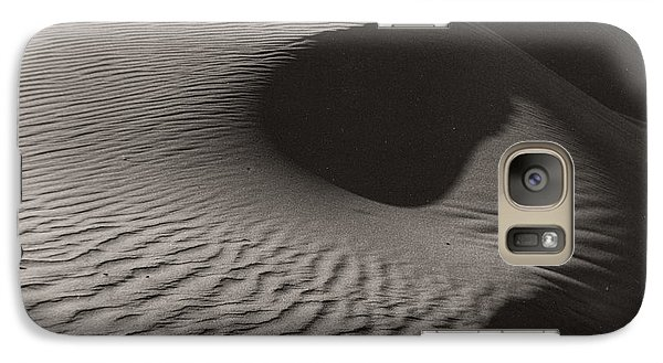 Galaxy Case featuring the photograph Sand Patterns by Sherry Davis