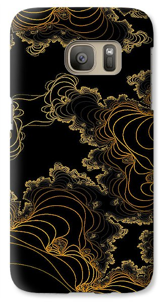 Galaxy Case featuring the digital art Sand Seafoam And Sky by Owlspook