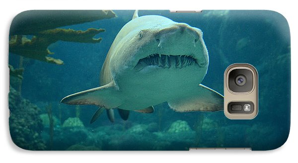 Galaxy Case featuring the photograph Sand Shark by Robert Meanor
