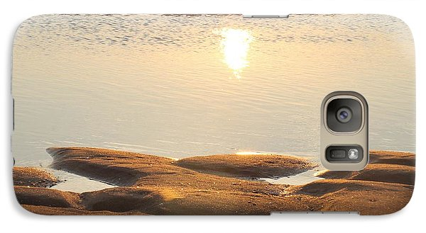 Galaxy Case featuring the photograph Sand Shine by Robert Banach