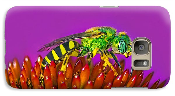 Galaxy Case featuring the photograph Sand Wasp by Marion Johnson