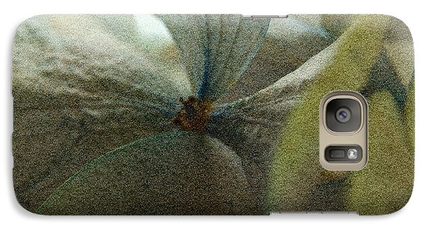 Galaxy Case featuring the photograph Sandflower by WB Johnston