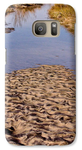 Galaxy Case featuring the photograph Sandform At Sand Hook by Gary Slawsky