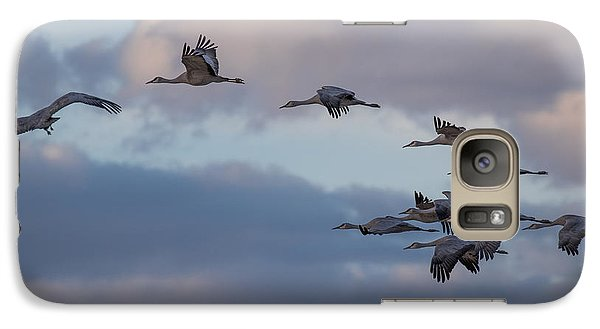 Sandhill Cranes Galaxy S7 Case by Beverly Parks