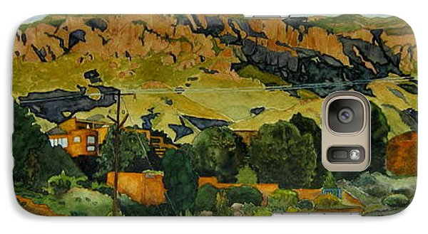 Galaxy Case featuring the painting Sandia Heights by Jeffrey S Perrine