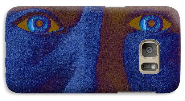 Galaxy Case featuring the digital art Sandman by Richard Farrington