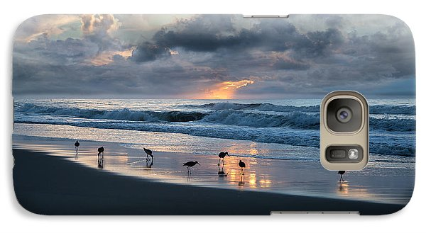 Sandpipers In Paradise Galaxy S7 Case