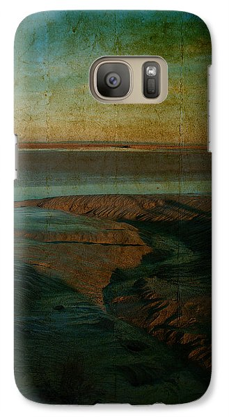 Galaxy Case featuring the photograph Sands At Mount St Michael by Karo Evans