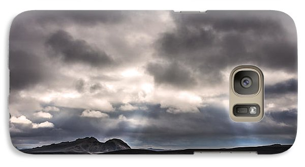 Galaxy Case featuring the photograph Sands Of Time by Gunnar Orn Arnason