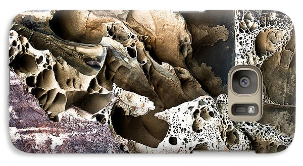 Galaxy Case featuring the photograph Sandstone Abstract by Crystal Hoeveler