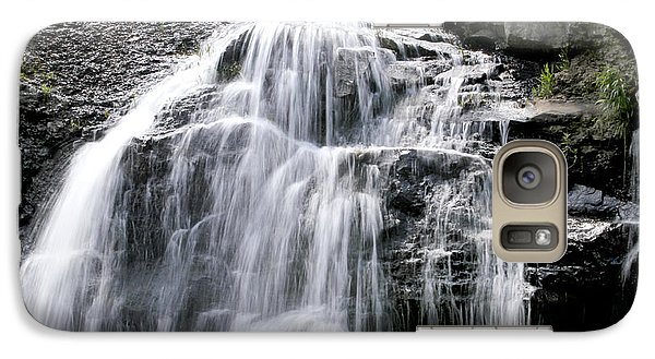 Galaxy Case featuring the photograph Sandstone Falls by Robert Camp