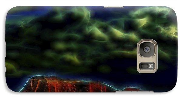 Galaxy Case featuring the digital art Sandstone Monolith 1 by William Horden