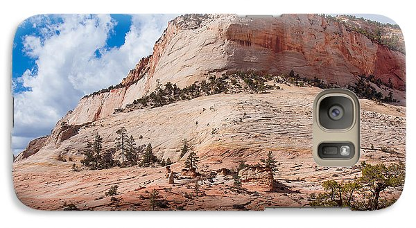 Galaxy Case featuring the photograph Sandstone Mountain by John M Bailey