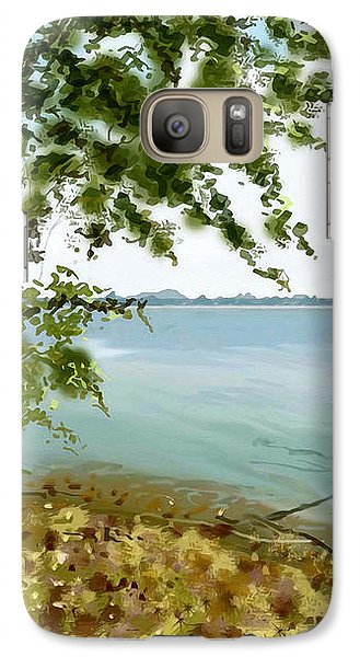 Galaxy Case featuring the painting Sandusky Bay by Shawna Rowe