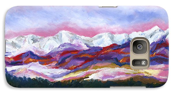 Galaxy Case featuring the painting Sangre De Cristo Mountains by Stephen Anderson