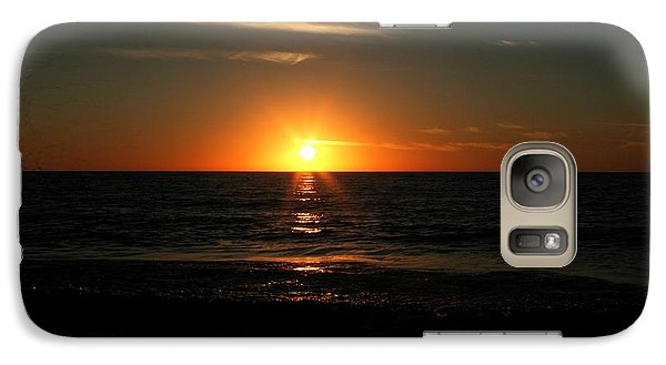 Galaxy Case featuring the photograph Sanibel At Sunset by The Art of Alice Terrill