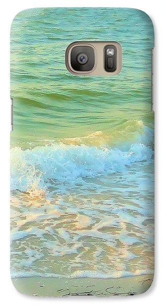 Galaxy Case featuring the photograph Sanibel At Sunset by Janette Boyd