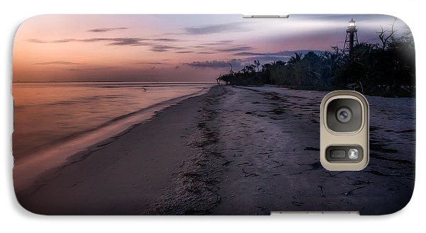 Galaxy Case featuring the photograph Sanibel Lighthouse by Joshua Minso