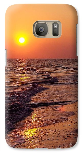 Galaxy Case featuring the photograph Sanibel Sunset by D Hackett