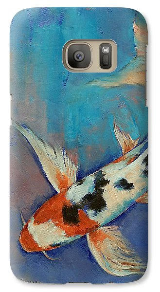 Sanke Butterfly Koi Galaxy S7 Case