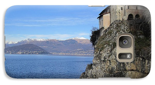 Galaxy Case featuring the photograph Santa Caterina - Lago Maggiore by Travel Pics