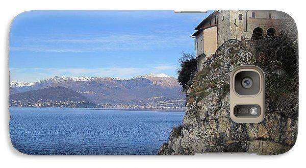Galaxy S7 Case featuring the photograph Santa Caterina - Lago Maggiore by Travel Pics