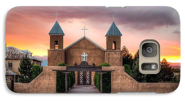 Galaxy Case featuring the photograph Santa Cruz De La Canada Church by Anna Rumiantseva