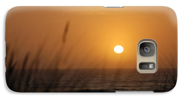 Galaxy Case featuring the photograph Santa Cruz Sunset by Shane Kelly