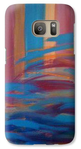 Galaxy Case featuring the painting Santa Fe Hues by Judi Goodwin