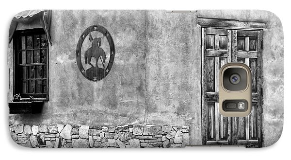 Galaxy Case featuring the photograph Santa Fe New Mexico Street Corner by Ron White